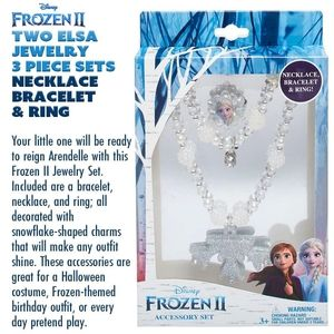 Frozen II Elsa Jewelry 3 Piece Sets & Bracelet